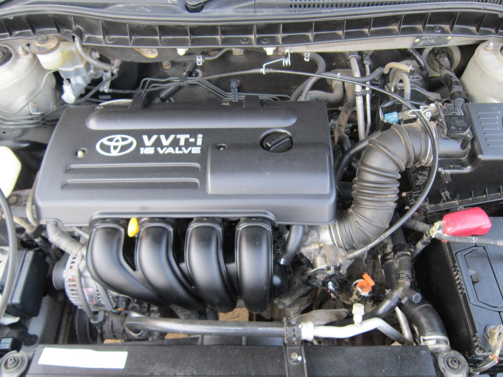 Toyota Isis двигатель 1ZZ-FE