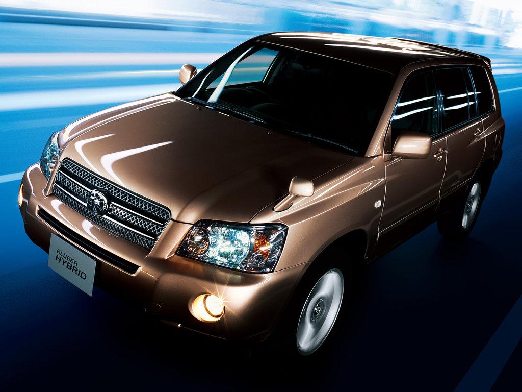 Toyota Kluger V рестайлинг