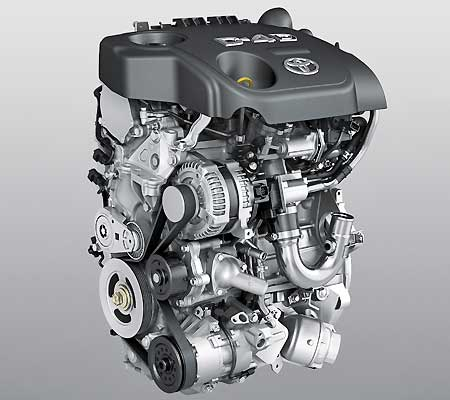 Toyota Probox двигатель 1ND-TV
