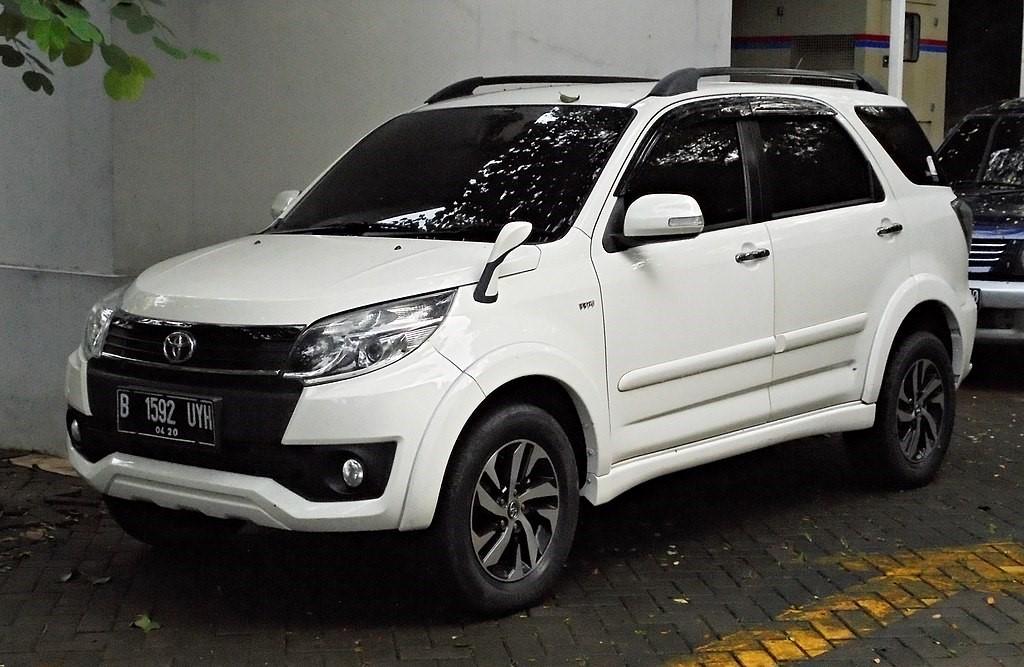 Toyota Rush 1.5 G (F700RE; второй рестайлинг, Индонезия)