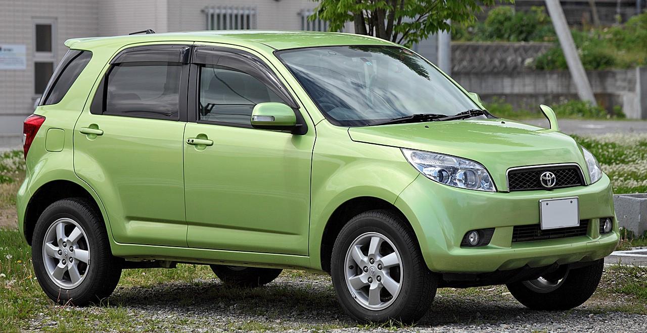 Toyota Rush (J200E, Япония)