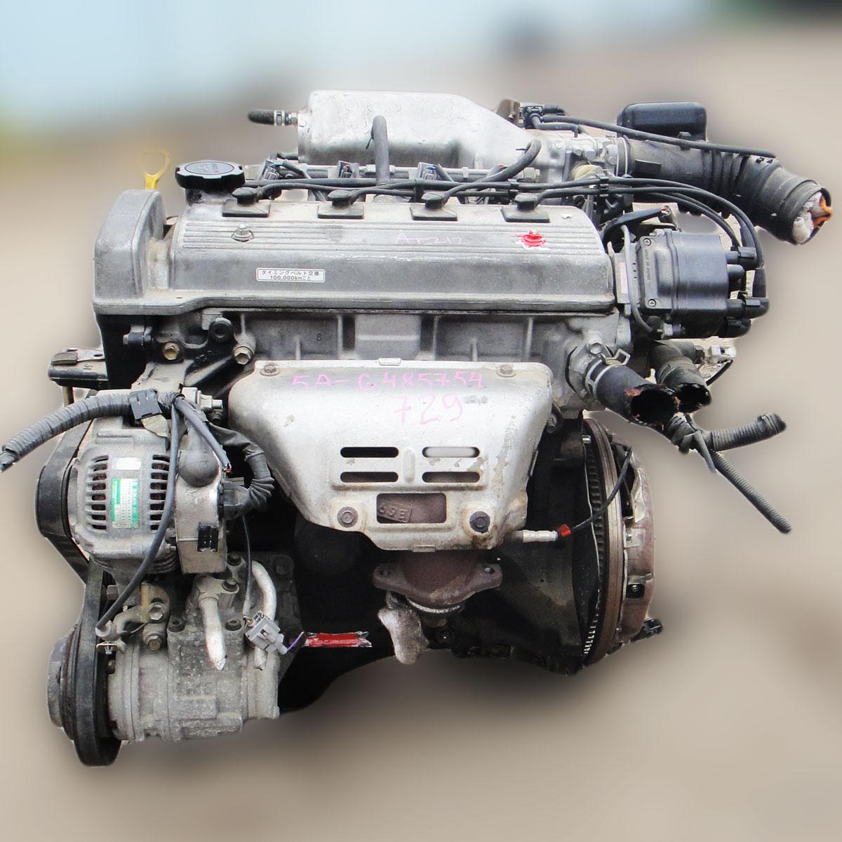 Toyota Sprinter Trueno двигатель 5A-FE