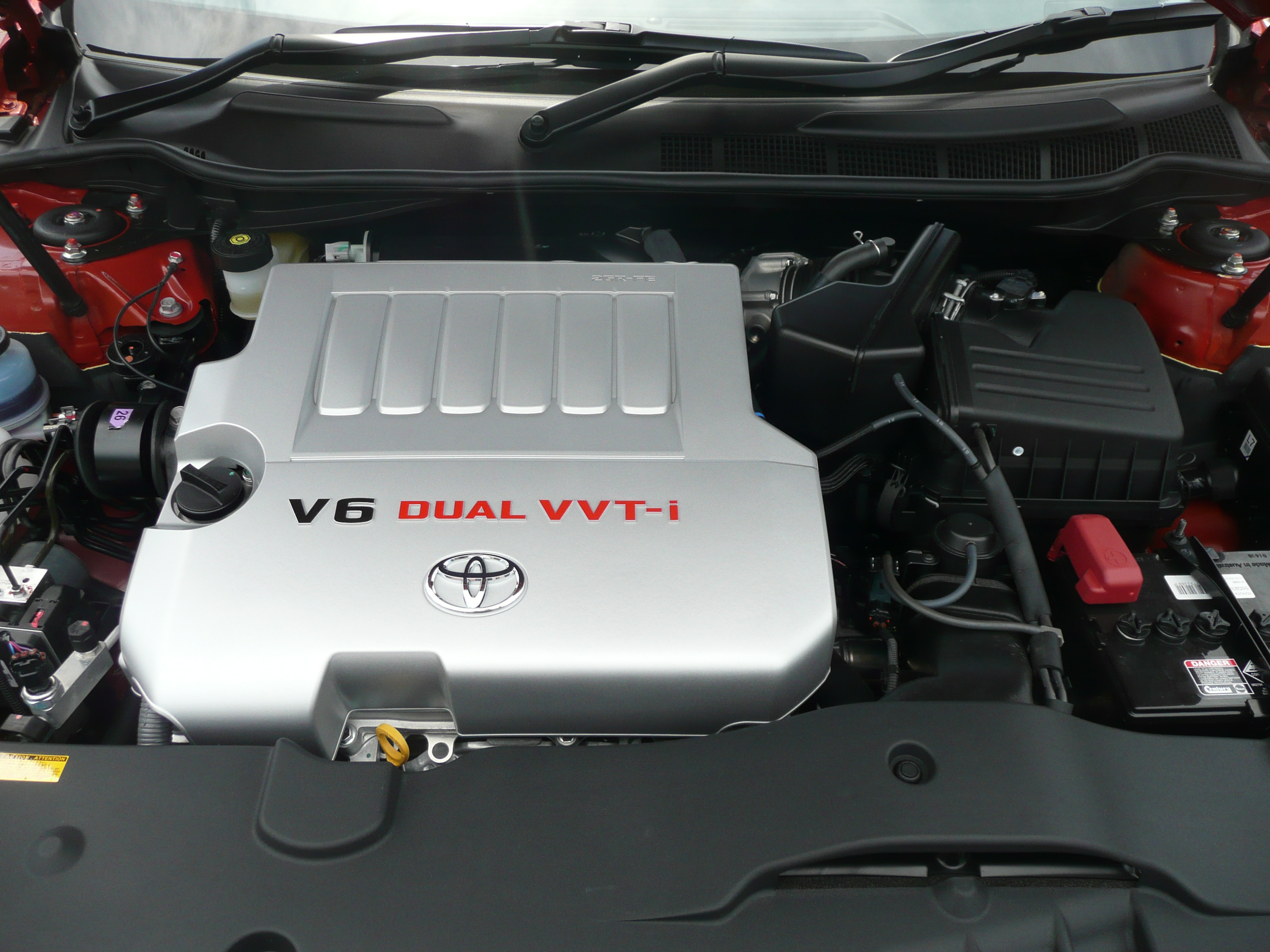 Toyota Venza двигатель 2GR-FE