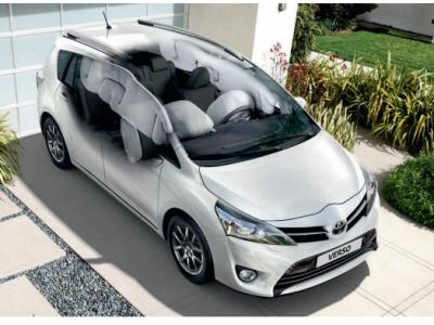 Toyota Verso подушки безопасности