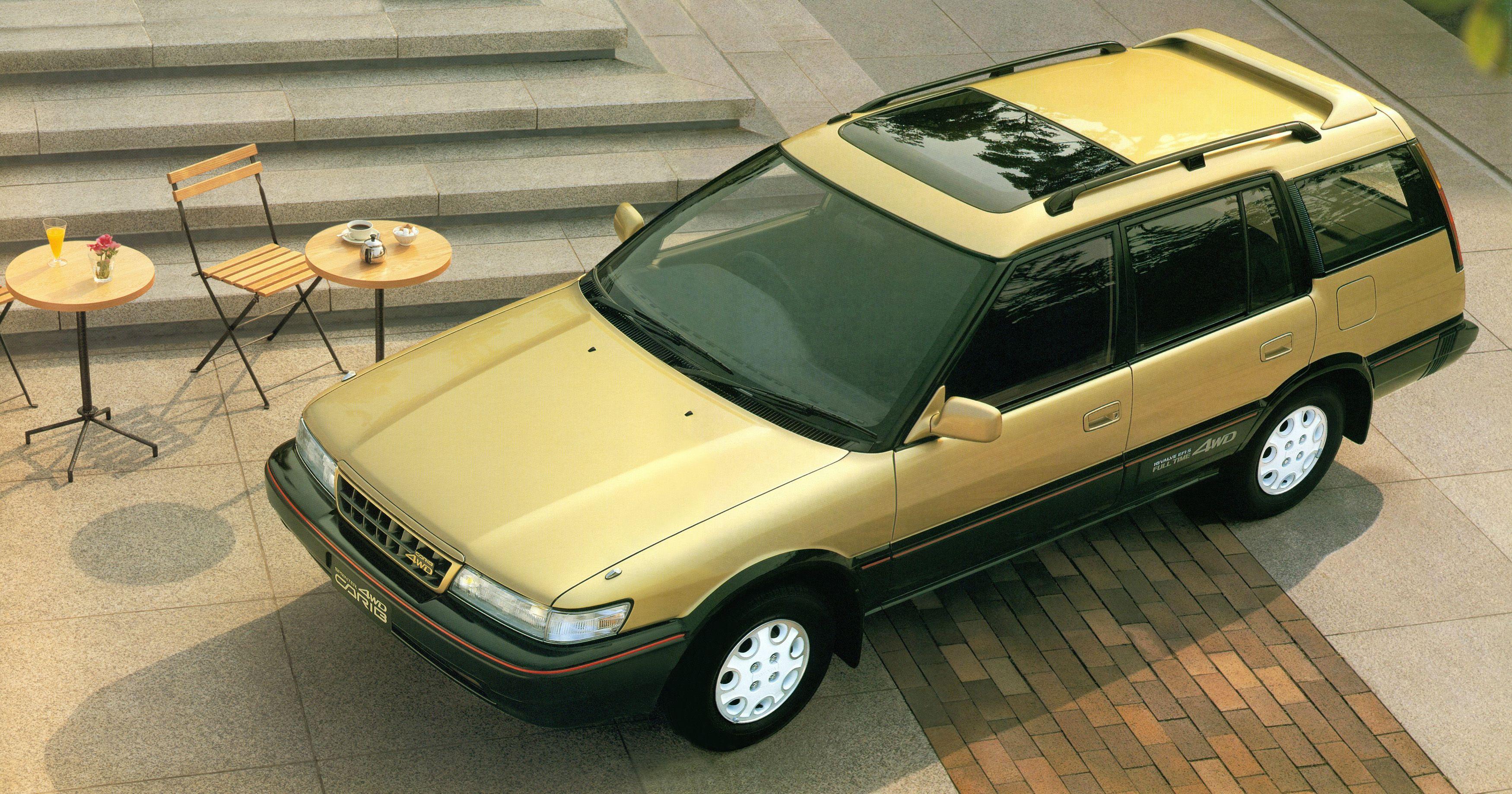Третье поколение Toyota Sprinter Carib