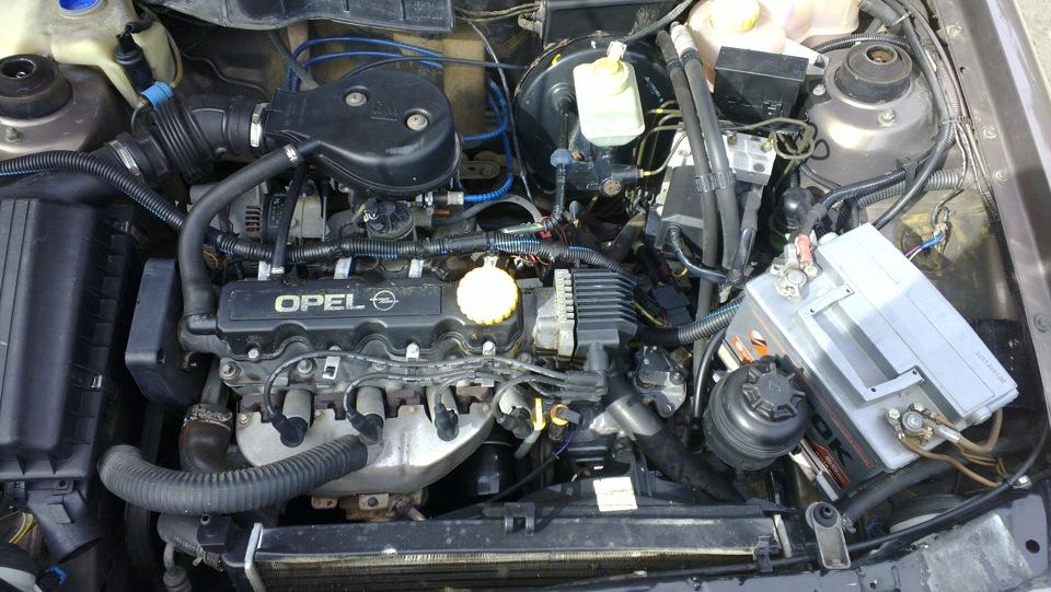 Тюнингование двигателя C16NZ в Opel Astra F