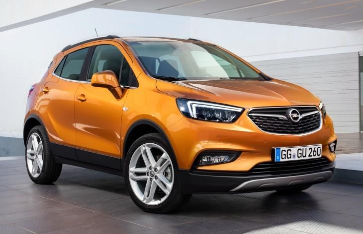 Внедорожник Opel Mokka – ещё одно место установки моторов Z16XER