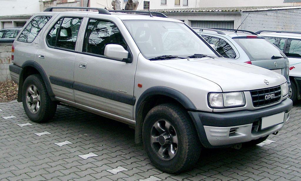 Внешний вид автомобиля Opel Frontera