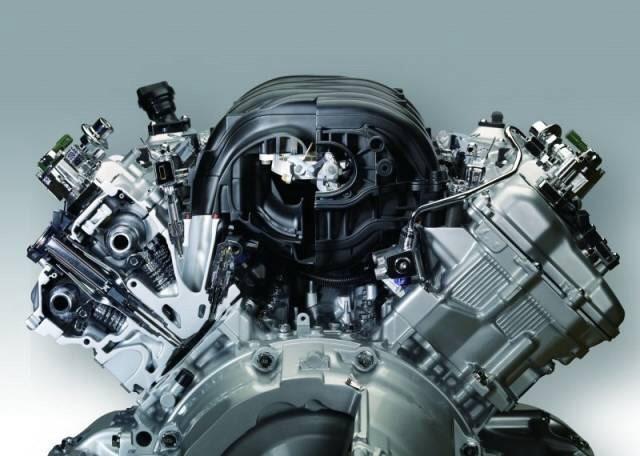 Восьмицилиндровый мотор-компьютер 1UZ-FSE