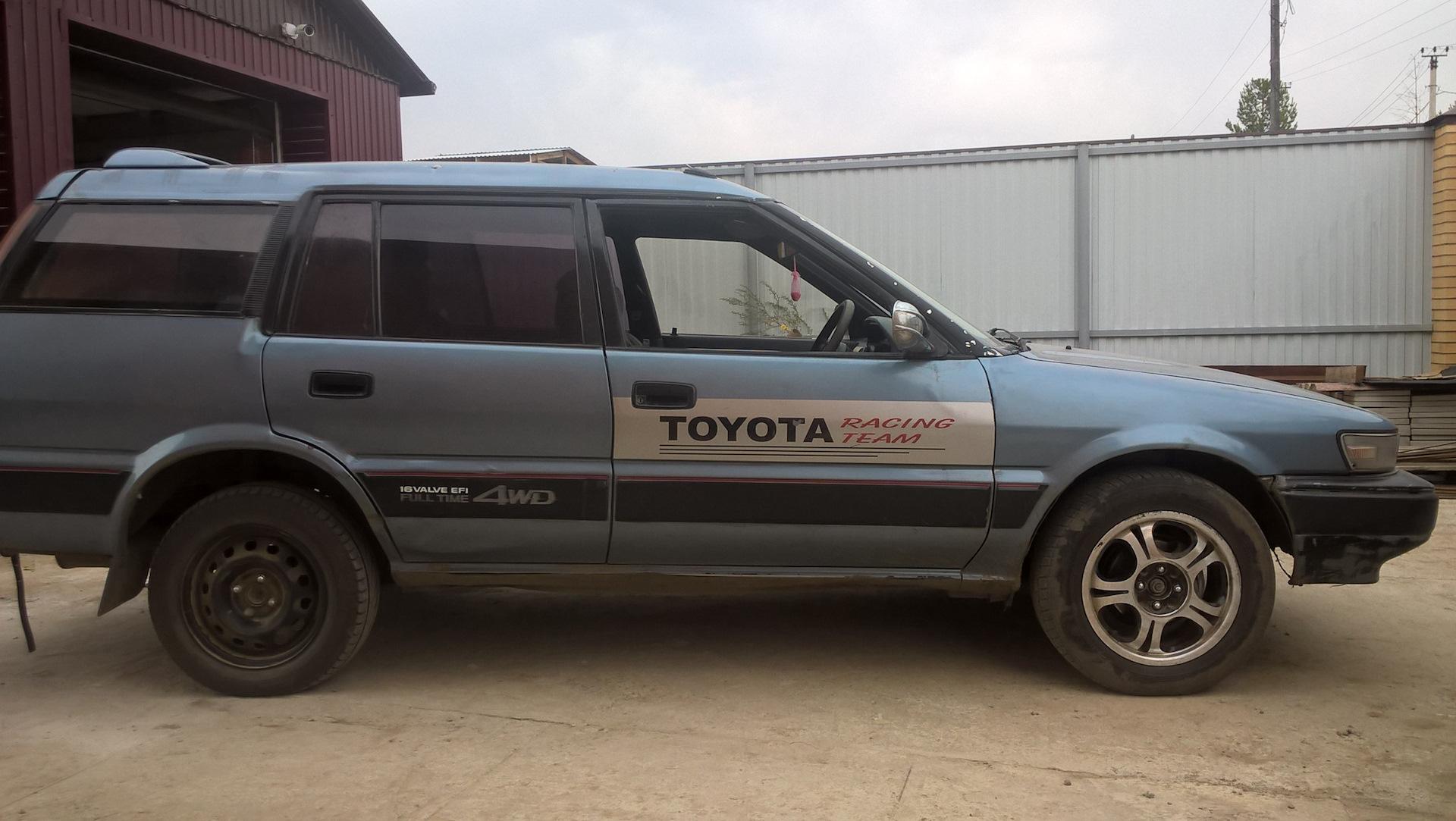 Второе поколение Toyota Sprinter Carib
