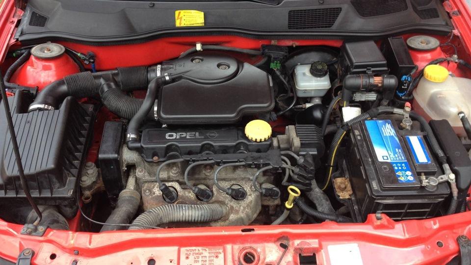X16SZR на Opel Аstra G универсал