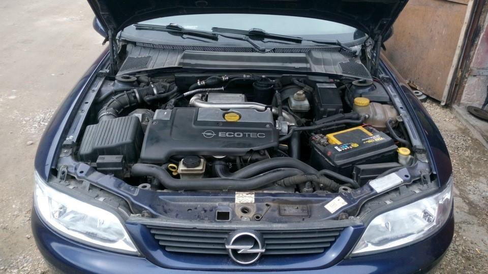X20DTH под капотом Opel Vectra B 1998 г.в.