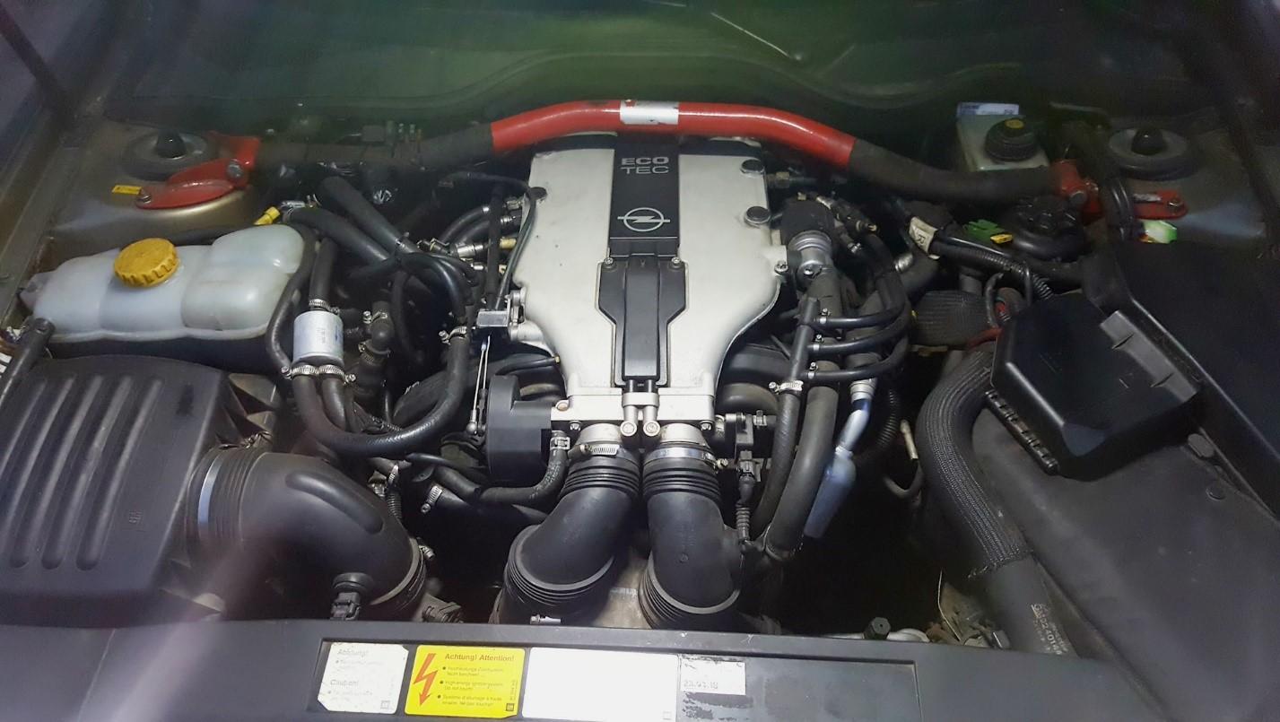 X30XE под капотом Opel Omega B 1998 г. в.
