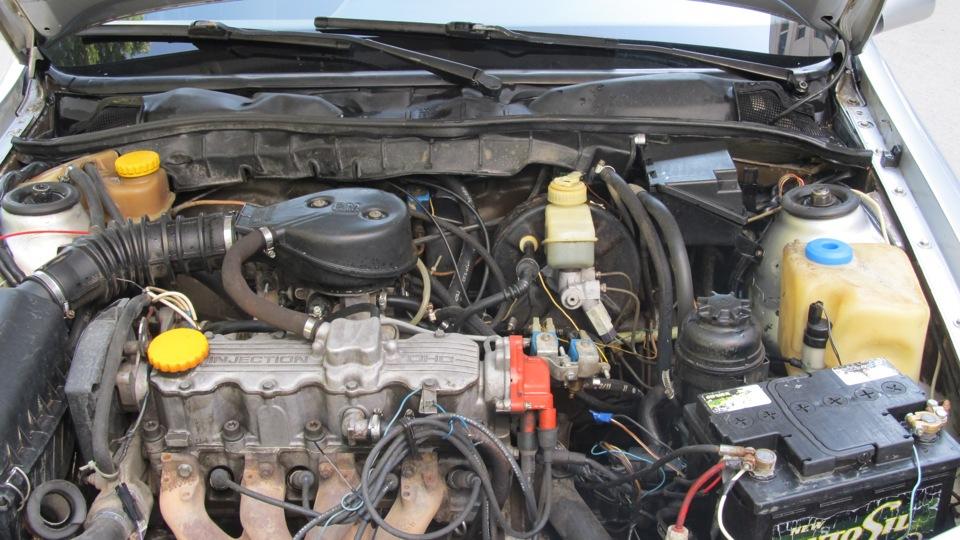 Замена двигателя на Opel C18NZ