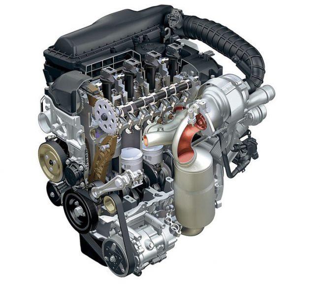 Двигатели Peugeot EP3, EP3C