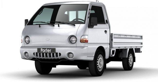 Третье поколение Hyundai Porter