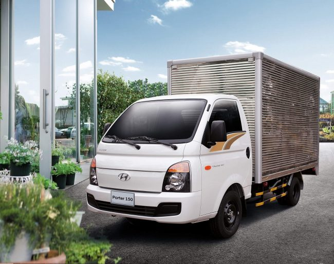 Второе поколение Hyundai Porter