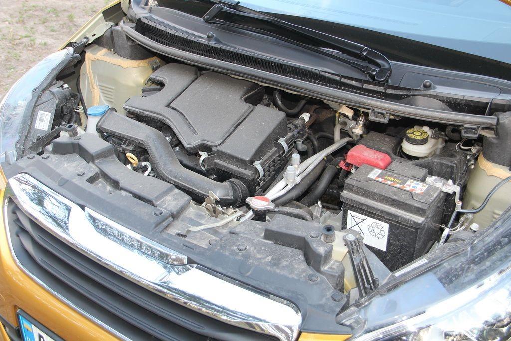 Peugeot 108 с 1.0-литровым мотором