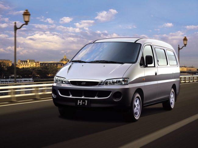 Первое поколение Hyundai H1