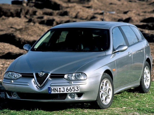 Двигатели Alfa Romeo 156