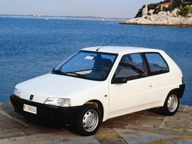 Двигатели Peugeot 106