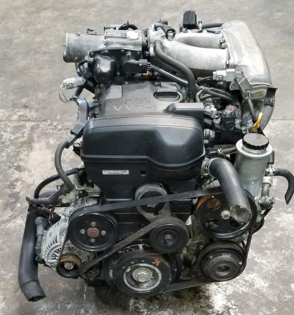 Двигатель 2JZ-GE с чугунным блоком цилиндров