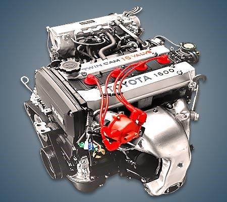 4A-GE – шестнадцатиклапанный мотор DOHC с электронным впрыском топлива