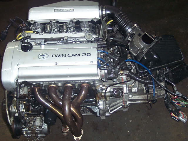 4A-GE Silver Top