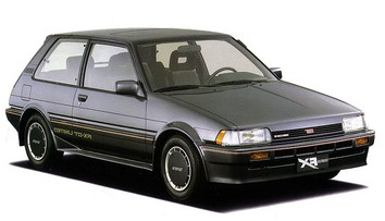 Самая первая Corolla FX с кузовом AEE81 (1984 год)