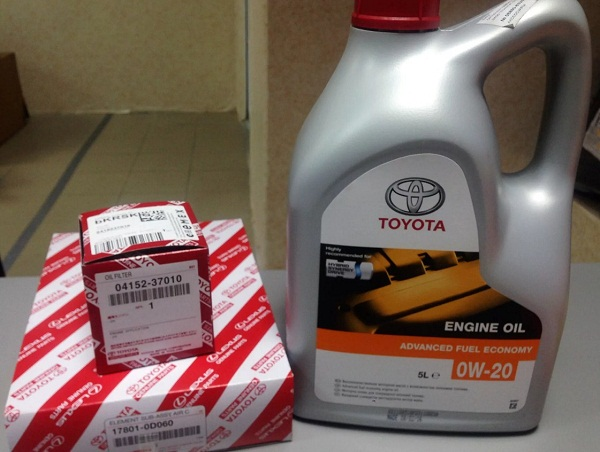 Фирменное масло Toyota
