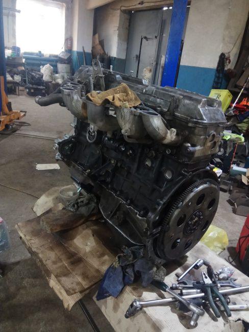 Мотор 1FZ-FE
