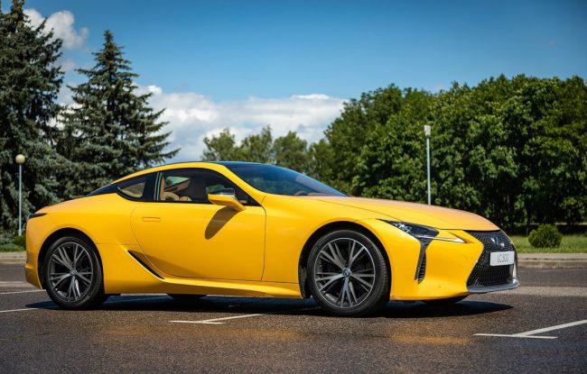 Внешний вид Lexus LC