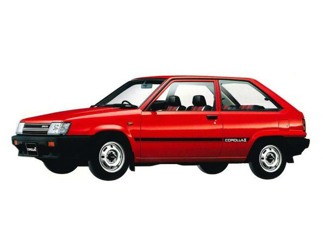 Первый субкомпакт Corolla II 1982 года выпуска