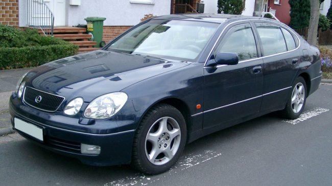 Второе поколение автомобиля Lexus GS
