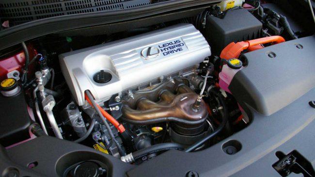 Подкапотное пространство Lexus HS250h с 2AZ-FXE