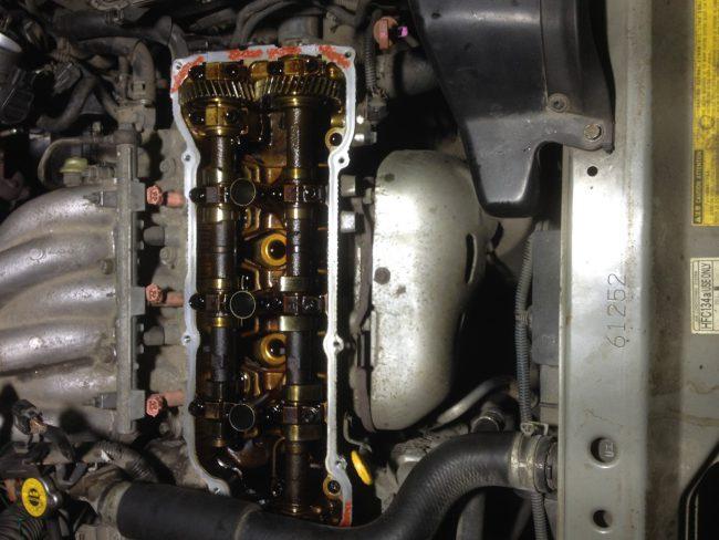 Ремонт двигателя 1MZ-FE