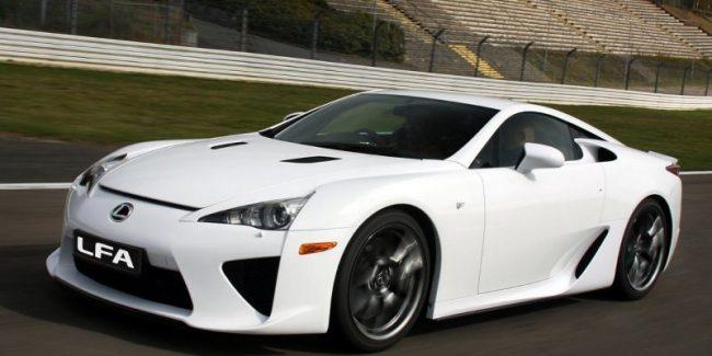 Внешний вид автомобиля Lexus LFA