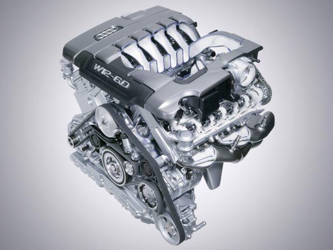 Двенадцати цилиндровый двигатель BHT