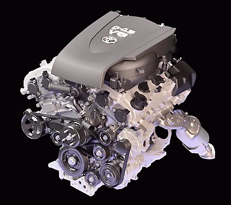 Двигатель 2GR-FKS