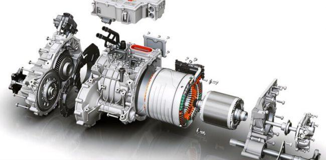 Электродвигатель Audi e-Tron