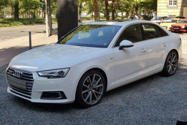 Пятое поколение Audi A4