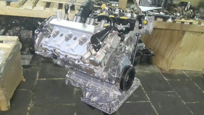 Внешний вид двигателя CHVA