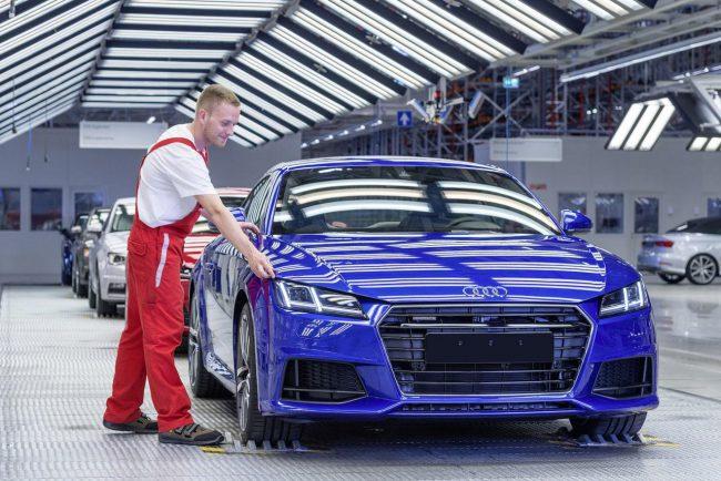 Завод по производству автомобилей Audi в Венгрии