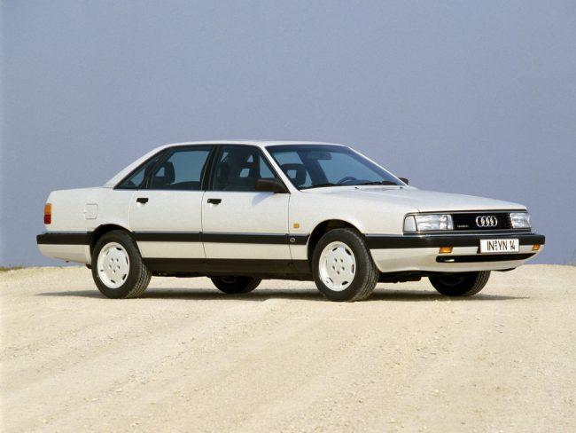 Audi 200 после рестайлинга
