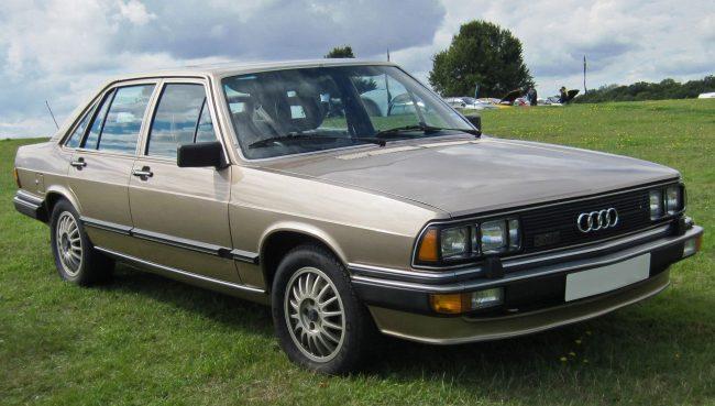 Audi 200 ранних годов выпуска