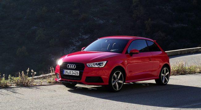 Audi A1 после фейслифтинга
