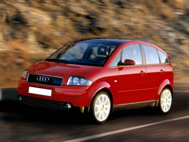 Audi A2 в движении