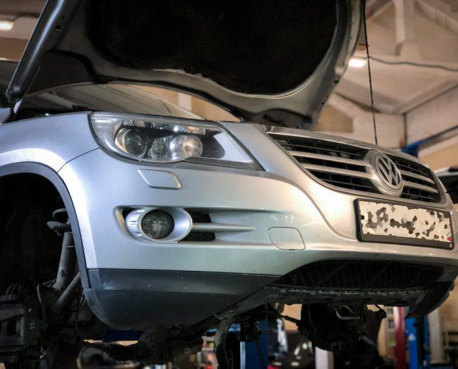 Процесс тюнинга Volkswagen Tiguan