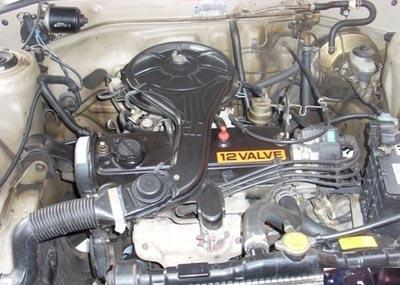 Тойота 1E 1л 12V