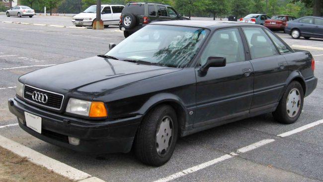 Третье поколение Audi 90